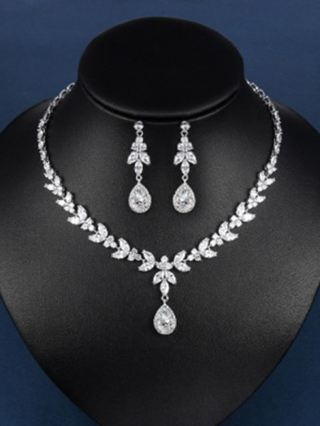 Zircon Hot Sale Smycken Set