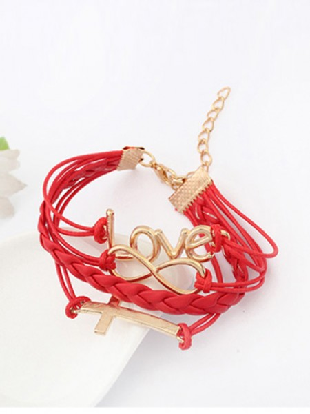 Korean version Password love Cross Armband